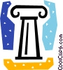 Vector Clipart picture  of a Column or Pedestal