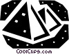 Vector Clipart illustration  of a Pyramids