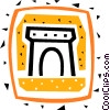 Vector Clipart picture  of an Arc de Triomphe