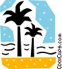 Vector Clipart graphic  of a Palm
