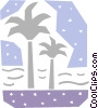 Palm Vector Clip Art picture