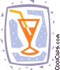 Vector Clip Art graphic  of a Cocktails and Mixed Drinks