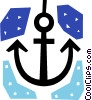 Vector Clipart graphic  of an Anchors