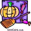 Pumpkins Vector Clip Art image