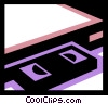 Videotape Recorders Vector Clipart graphic