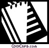 Vector Clipart graphic  of a Notepad