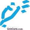 Vector Clip Art image  of a Markers