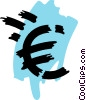 Vector Clip Art image  of a Currency Symbols