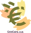 Vector Clip Art graphic  of a Currency Symbols