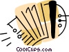 Accordions Vector Clipart picture