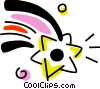 Vector Clipart picture  of a Stars