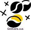 Coffee Beans Vector Clipart picture