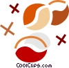 Coffee Beans Vector Clipart illustration