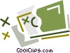 Vector Clipart graphic  of a Dollars
