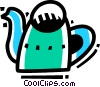 Watering Cans Vector Clipart picture