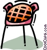 Vector Clipart graphic  of a Picnics and Barbecues