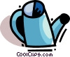 Watering Cans Vector Clipart graphic