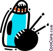 Vector Clipart picture  of a Misc Hygiene