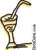 Vector Clipart picture  of a Cocktails and Mixed Drinks