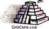 Incan Pyramids Vector Clipart picture