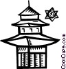 Temples Vector Clipart image