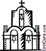Churches Vector Clipart picture