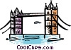 Tower Bridge Vector Clip Art image