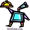 Chefs and Cooks Vector Clipart image