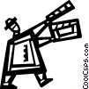 Vector Clipart picture  of a Clapper Boards