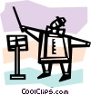 Vector Clip Art picture  of a Orchestra Conductors