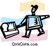 Vector Clipart graphic  of a Bakers