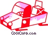 Light Trucks Vector Clip Art picture