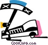 Vector Clip Art picture  of a Scooters