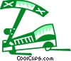 Vector Clipart image  of a Scooters