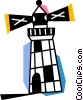 Lighthouses Vector Clipart graphic
