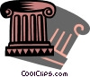 Vector Clipart illustration  of a Column or Pedestal
