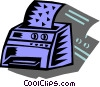 Vector Clipart graphic  of a Printers