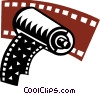 Film Vector Clipart illustration