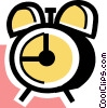 Alarm Clocks Vector Clip Art picture