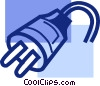 Electric Plugs Vector Clip Art graphic