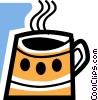 Cups of Coffee Vector Clip Art picture