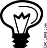Light bulbs Vector Clipart graphic