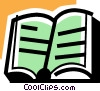 Vector Clipart image  of a Books