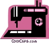 Sewing Machines Vector Clipart illustration