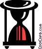 Vector Clipart image  of a Hourglasses