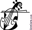 Cellos Vector Clipart graphic