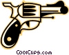 Vector Clip Art image  of a Guns
