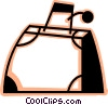 Luggage and Storage Vector Clipart illustration