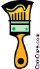 Vector Clip Art graphic  of a Paintbrushes