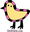 Chicks Vector Clipart illustration